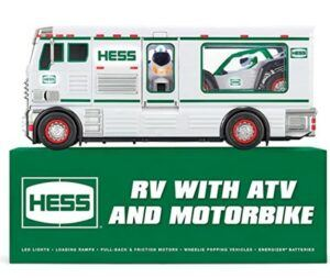 Best Christmas Toys For 2020-Hess 2018 Toy Truck - RV with ATV and Motorbike