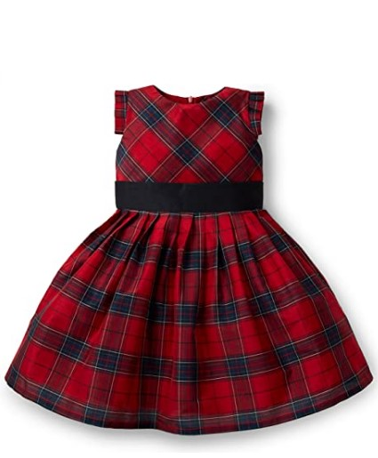 Christmas Dresses For Girls-Hope & Henry Girls' Special Occasion Holiday Party Dress