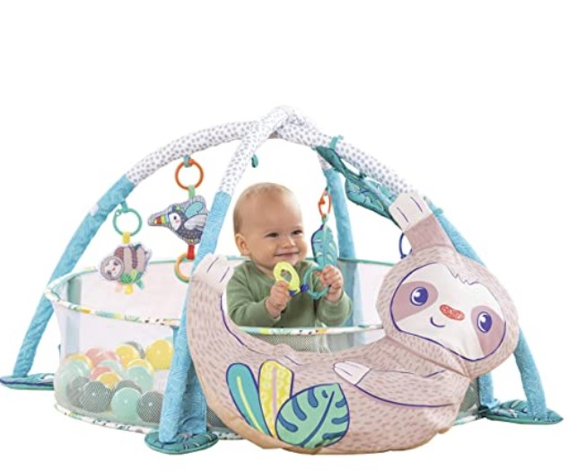 Best Christmas Toys For 2020-Infantino 4 in 1 Jumbo Baby Activity Gym