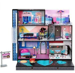 Best Christmas Toys For 2020-L.O.L. Surprise! O.M.G. House – New Real Wood Doll House with 85+ Surprises