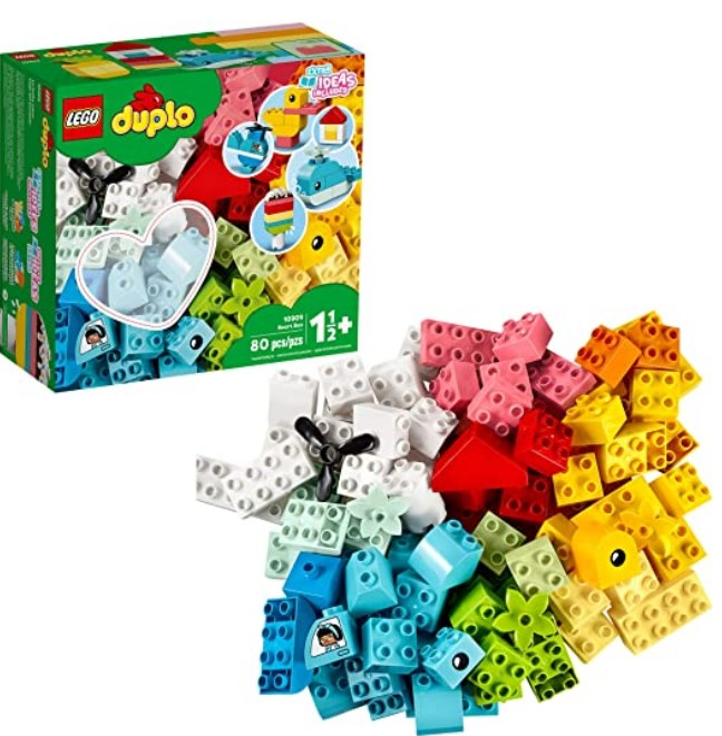 Best Christmas Toys For 2020-LEGO DUPLO Classic Heart Box