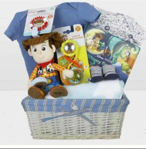 Cute Baby Shower Gift Basket Ideas-Toy Story