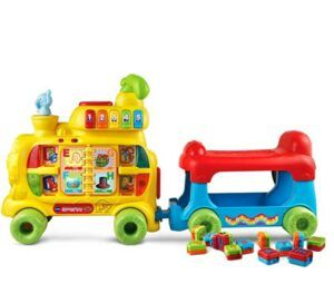 Best Christmas Toys For 2020-VTech Sit-to-Stand Alphabet Train