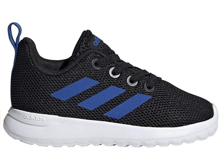 Adidas Shoes For Toddler Girl-adidas Toddler's LITE Racer CLN I Core Black-Blue-White Size