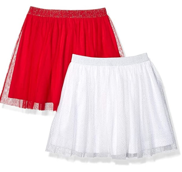 Christmas Gifts For 3-Year-Old Girl-Amazon Brand - Spotted Zebra Girls Tutu Skirts