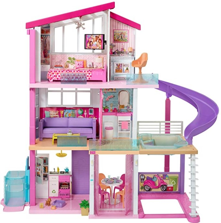 Christmas Gifts For 3-Year-Old Girl-Barbie Dreamhouse Dollhouse