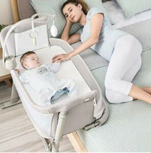 Black Friday Deals 2020 For-Baby Bassinet,RONBEI Bedside Sleeper Baby Bed Cribs