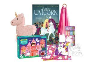 Christmas Gifts For 3-Year-Old Girl-Baby Unicorn Gift Bundle- Toddler