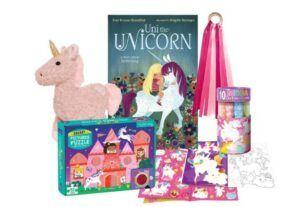Christmas Gifts For 3-Year-Old Girl-Baby Unicorn Gift Bundle- Toddler