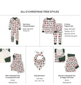 Family Matching Christmas Pajamas For-Burt's Bees Family Jammies Matching Holiday Organic Cotton Pajamas