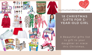 Christmas Gifts For 3-Year-Old Girl-My Mum And Daughter