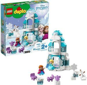 Christmas Gifts For 3-Year-Old Girl-LEGO DUPLO Disney Frozen Ice Castle 10899 Building Blocks (59 Pieces)