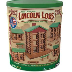 Christmas Gifts For 3-Year-Old Girl-LINCOLN LOGS-Collector's Edition Village
