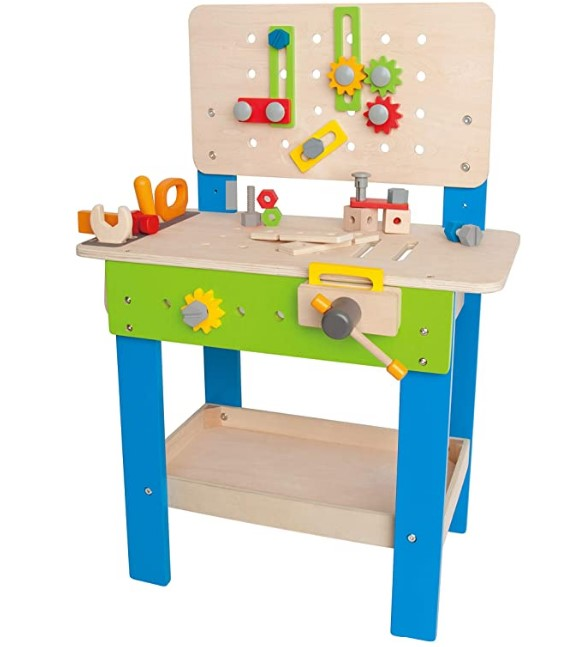 Christmas Gifts For 3-Year-Old Girl-Master Workbench by Hape