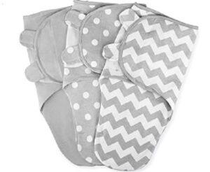 Best Sleep Sacks of-Swaddle-Blanket-Baby-Girl-Boy-Easy-Adjustable-3-Pack-Infant-Sleep-Sack-Wrap-Newborn-Babies-by-Comfy-Cubs-0-3-Months-Old-Grey-Small-Medium-Small-Medium