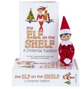 Christmas Gifts For 3-Year-Old Girl-The Elf on the Shelf Girl Light, Red and White