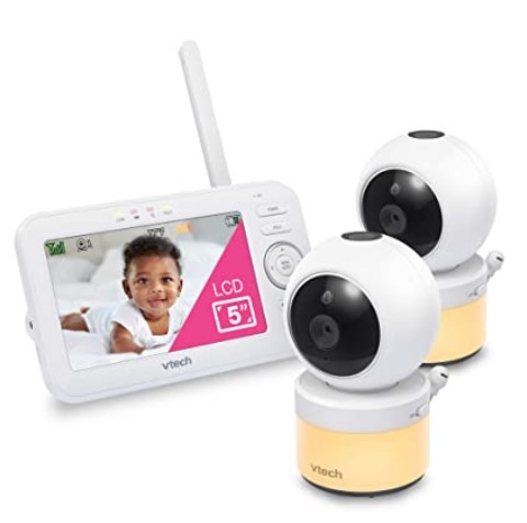Black Friday Deals 2020 For-VTech VM5463-2 Video Baby Monitor with 5 inches Screen