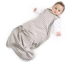 Best Sleep Sacks of -Woolino 4 Season Baby Sleep Bag Sack, Australian Merino Wool, 2 Months to 2 Year, Earth