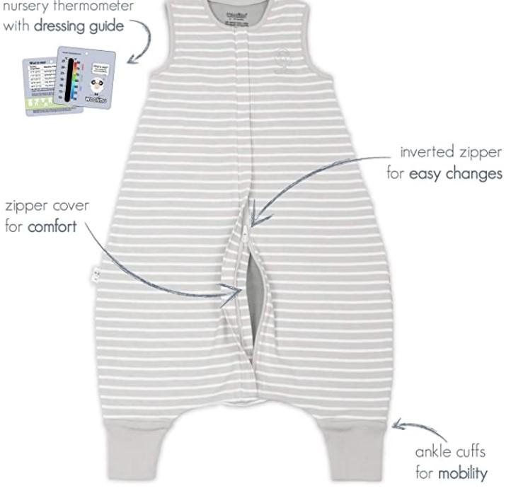 Best Sleep Sacks of-Woolino-4-Season-Baby-Sleeping-Sack-with-feet-Australian-Merino-Wool-Wearable-Blanket-6-Months-3-4T