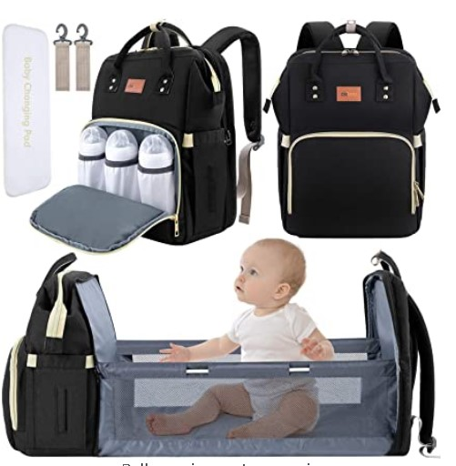 The Best Diaper Bags To Buy in 2021-DEBUG Baby Diaper Bag Backpack with Changing Station Diaper Bags
