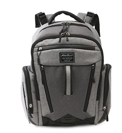 The Best Diaper Bags To Buy in 2021-Eddie Bauer Places & Spaces Bridgeport Diaper Bag Backpack