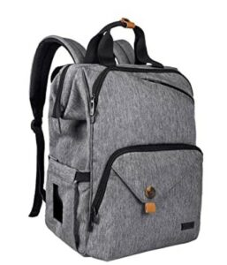 The Best Diaper Bags To Buy in 2021-Hap Tim Diaper Bag Backpack,Large Capacity Travel Back Pack Maternity Baby Nappy Changing Bags,