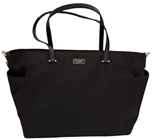 The Best Diaper Bags To Buy in 2021-Kate Spade New York Dawn Baby Diaper Bag (Black)
