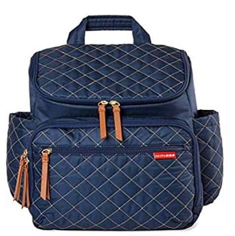 The Best Diaper Bags To Buy in 2021-Skip Hop Diaper Bag Backpack, Navy