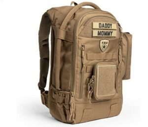 The Best Diaper Bags To Buy in 2021-TBG - Mens Tactical Diaper Bag Backpack SET - Changing mat, Dump & Wipes Pouches