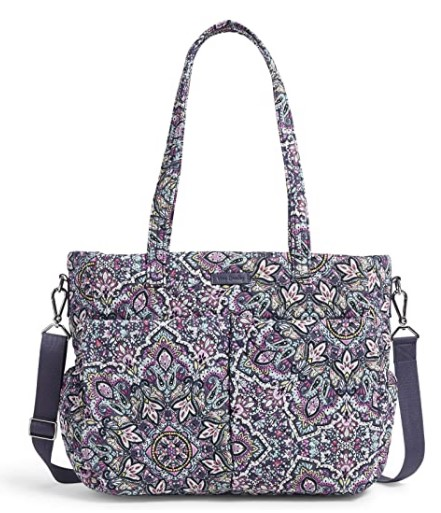 The Best Diaper Bags To Buy in 2021-Vera Bradley Women's Signature Cotton Ultimate Baby Diaper Bag