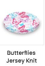 Stokke Sleepi Crib Sheets-Butterfly Jersey Knit