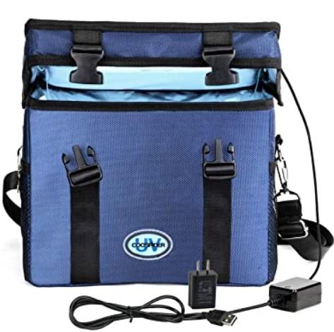 Baby Bottle Uv Sterilizer To Buy in 2021-Coospider Store UV-C Light UV Cleaner Bag Portable