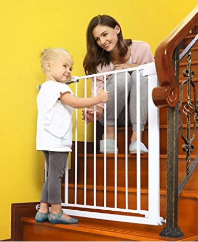 Best Baby Gates For The Stairs-Lemon Tree Baby Gates for Stairs and Doorways Dog Gates for The House