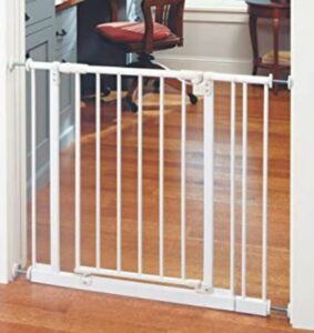 Best Baby Gates For The Stairs-Toddleroo by North States 38.5 iches Wide Easy Close Baby Gate