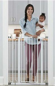 Best Baby Gates For The Stairs-Regalo Easy Step Extra Tall Walk Thru Baby Gate