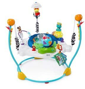 Best Baby Jumpers And Bouncers-Baby Einstein Journey of Discovery Jumper Activity Center with Lights & Melodies
