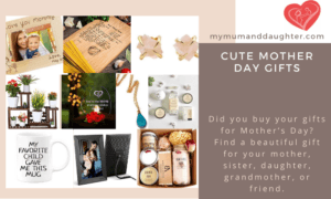 Cute Mother Day Gifts-My Mum And Daughter