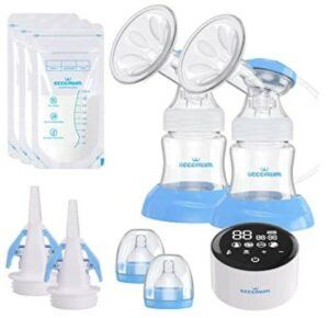 The Best Breast Pumps In 2021-Eccomum Electric Double Breast Pump