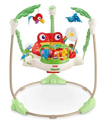 Best Baby Jumpers And Bouncers-Fisher-Price Rainforest Jumperoo