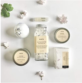 Cute Mother Day Gifts-Lavender Bath and Body Gift Set