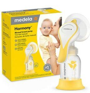 The Best Breast Pumps In 2021-New Medela Harmony Manual Breast Pump