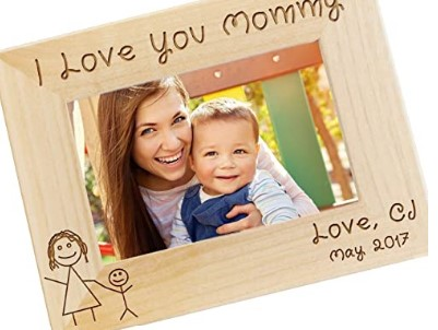 Cute Mother Day Gifts-Personalized I Love Mommy Picture Frame