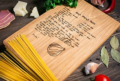 Cute Mother Day Gifts-Recipe Cutting Board