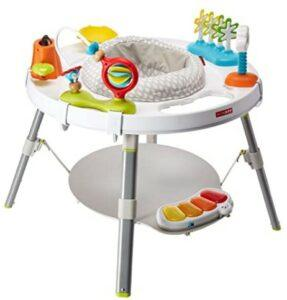 Best Baby Jumpers And Bouncers-Skip Hop Explore and More Baby's View 3-Stage Interactive Activity Center, Multi-Color, 4 Months