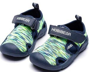 The 20 Best Toddler Beach Shoes To Buy-HOBIBEAR-Boys-Girls-Water-Shoes-Quick-Dry-Closed-Toe-Aquatic-Sport-Sandals-Toddler-Little-Kid