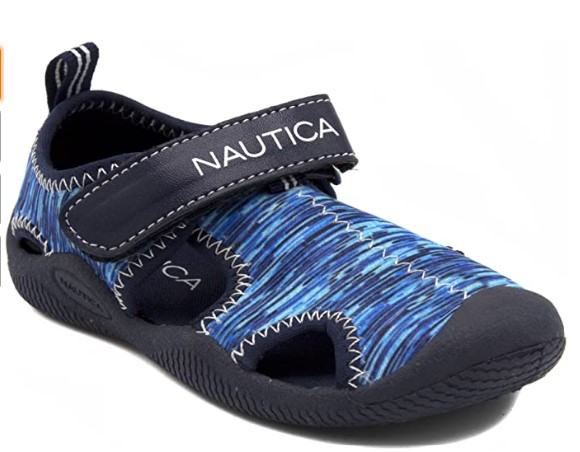 Toddler Beach Shoes In-Nautica Kids Kettle Gulf Protective Water Shoe