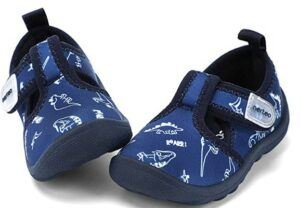 The 20 Best Toddler Beach Shoes To Buy-nerteo-Boys-Girls-Cute-Aquatic-Water-Shoes-Beach