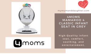 4Moms Mamaroo 4 Classic Infant Seat In Grey-My Mum And Daughter