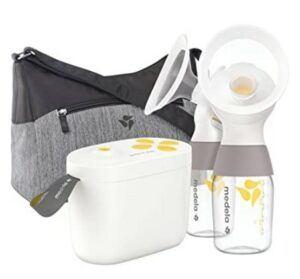 Medela Pump In Style-Medela Breast Pump - New Pump in Style with MaxFlow - Electric Breast Pump, Closed System , Portable