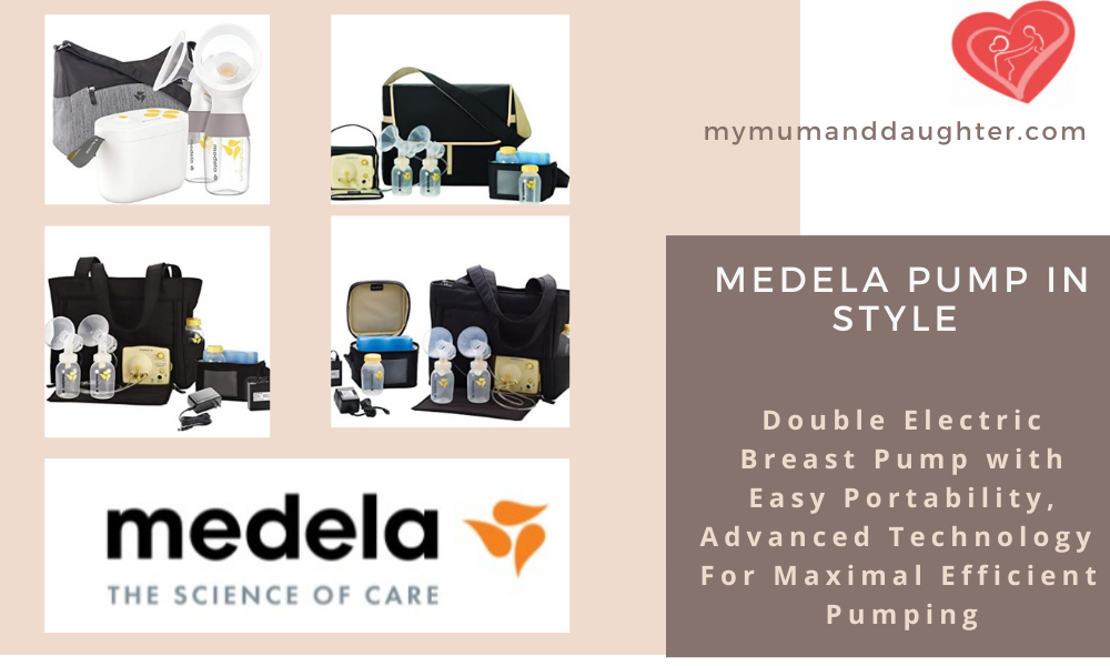 Medela Pump In Style- My Mum And Daughter
